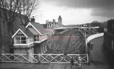 PHOTO  LNER LINCOLN RAILWAY STATION VIEW  12/4/86