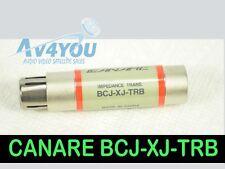 Canare BCJ-XJ-TRB Digital Audio Impedance Transformer XLR Female - BNC