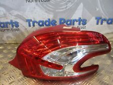 2015 PEUGEOT 208 TAIL LIGHT PASSENGER REAR SIDE LEFT 9672628380 #25832