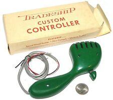 Vintage TRADESHIP 1/24 1/32 Slot Car CUSTOM CONTROLLER The Amoeba Thumb +Finger!