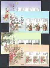 China Taiwan 2019 Top BLK 3 特677 古典詩詞 Classical Chinese Poetry Series No 2 Stamp