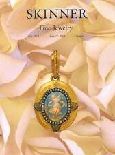 Skinner Fine Jewelry Cartier Diamond Emerald Bulgari Auction Catalog June 2008