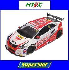 SCALEXTRIC UK HONDA CIVIC TYPE R #52 BTCC 2015 G. SHEDDEN YUASA SUPERSLOT H3783