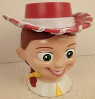 JESSIE The COWGIRL Disney On Ice Toy Story 2 Plastic Mug Cup with Flip Lid EUC