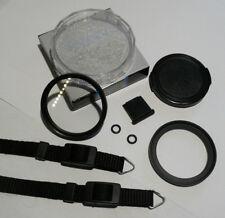 Olympus Trip 35 49mm Filter Step Up Ring, Lens Cap, UV Filter & Neck Strap