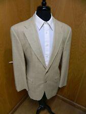Mens Blazer Sport coat Jacket Ralph Lauren 42r Golden H.T Silk & Wool S#106