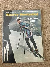 FM5-23 Sports Illustrated Magazine 11-17-1969 SKIING ITALY