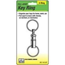 HY-KO PROD Pull Apart Key Ring, Silver (KC116)