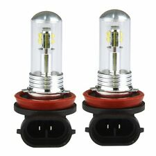 2x H8 H11 6000K 80W High Power CREE LED Fog Driving Light Canbus Lamp Bulb White