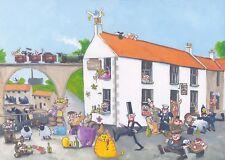 The Railway Inn, Lower Largo, Fife. Print