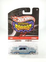 Hot Wheels Wayne's Garage '57 Chevy Gray/Teal NEW 1/64 Diecast with Protecto Pak