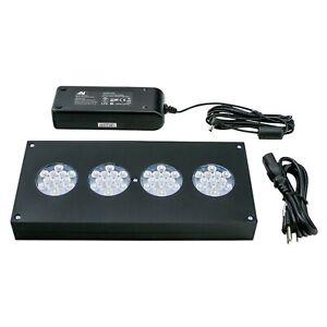 AquaIllumination Hydra Fiftytwo HD LED Light Fixture - Black- free shipping