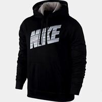 NWT Men's Nike Hyper Blur Therma-Fit Hoodie Pullover Size M,L,XL BlkWht 645394