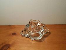 Avon Sea Shell crystal votive or tealight holder