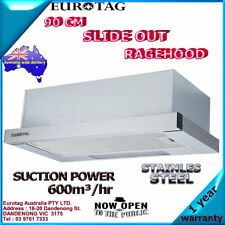 Eurotag RHSD-900 90cm Slide Out Range hood 600m3/h stainless steel Brand New