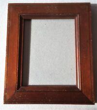 vintage solid wood frame cadre bois Holz Rahmen ca 1870