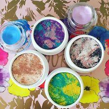 Colourpop Set of 4 - TIE DYE Super Shock Eyeshadows - Brand New in Box