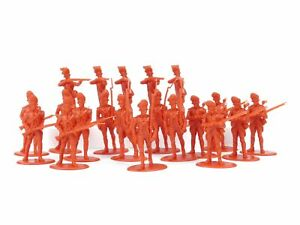 American Revolution A Call To Arms British Grenadiers 54mm Plastic Toy Soldiers