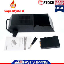 Hot Hard Drive Data Bank 6TB Storage Capacity External Box for Playstation 4 LED