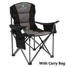 Camping Chair Heavy Duty Folding Chair with Cup Holder Oversize Outdoor Portable