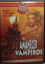 LE FRISSON DES VAMPIRES AMANCER DE LOS VAMPIROS - Rollin DVD Julien Delahaye OOP