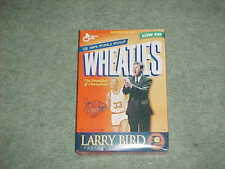 Larry Bird Indiana Pacers Commemorative Edition Basketball Wheaties Cereal Box
