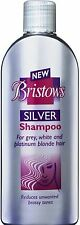 Bristows Silver Shampoo 200ml For Grey, White and Platinum Blonde Hair