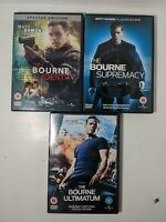 Jason Bourne DVD's Bundle, three DVDs.