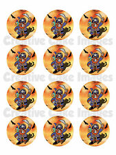 "12 PIRATE ""REAL EDIBLE ICING"" CUPCAKE PARTY TOPPER IMAGES FROSTING SHEET"
