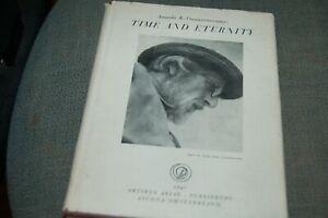 Time and Eternity by Ananda K. Coomaraswamy ,scarce, DJ,1947