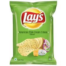 Lays Potato Chips - American Style Cream & Onion Flavour,