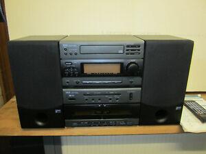 Yamaha Stereoanlage  Modell YST-NC1 mit 2 Lautsprecher und Fernbedienung 180Watt
