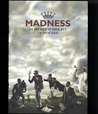 MADNESS OFFICIAL TOUR PROGRAMME - UK TOUR DECEMBER 2010 - SUGGS STIFF SKA 2 TONE