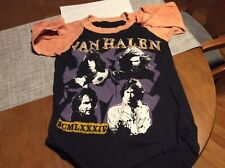 Vintage Van Halen 1984 T Shirt. Smoking Baby! Original. Size Small. See Photos