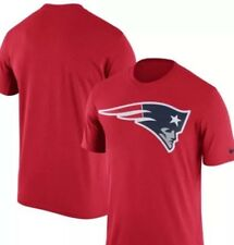 New England Patriots Nike Legend Logo Essential 3 T-Shirt Red S NFL AT2 49c8d200b