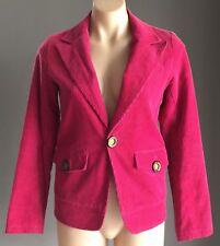 Retro Gem  Cerise DOLL DOLL'S LUNA Corduroy Jacket / Blazer Size M/10