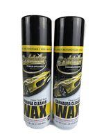 Lot of 2- EZ WAX 579221 Premium EZ Detailer Waterless Cleaning Spray Wax