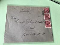 Germany 1924 Munich to Basel  multi  stamps cover  ref 50519