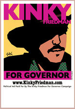 Kinky Friedman For Governor 2006 Poster