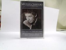 MICHAEL CRAWFORD LSO SONGS FROM STAGE AND SCREEN  CASSETTE TAPE MUSIC