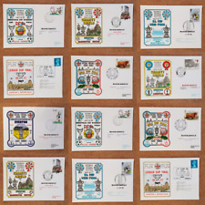 More details for first day covers football games european + domestic matches everton - various