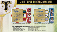 2018 TOPPS TRIPLE THREADS BASEBALL LIVE PICK YOUR PLAYER (PYP) 1 BOX BREAK #3