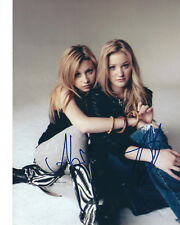 ALY & AJ MICHALKA AUTOGRAPHED PHOTO SIGNED 8X10 #1