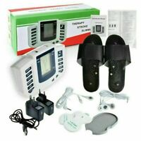 TENS Unit Tens Massager Digital Therapy Acupuncture Pads Machine 2 output Shoes