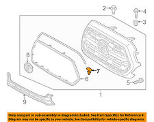 TOYOTA OEM Grille Grill-Seal Fastener 5314560030