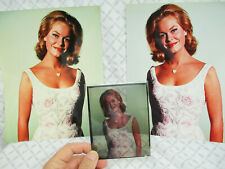 Bewitched Elizabeth Montgomery Color Transparnency and Two Photos