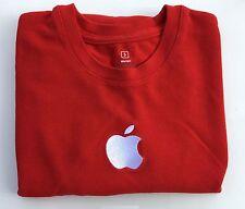 Apple Store Shirt Embroidered Logo Short Sleeve