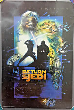 "Vintage 1997 Star Wars Return of the Jedi Special Edition Movie Poster 27""x40"""