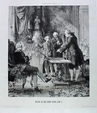 Kaiser Josef II. Wien Hofburg Buchdrucker Presse Trattner Letter Franz I Stephan