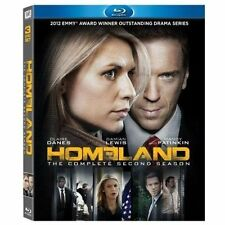 Homeland: The Complete Second Season (Blu-ray Disc, 2013, 3-Disc Set) NEW
